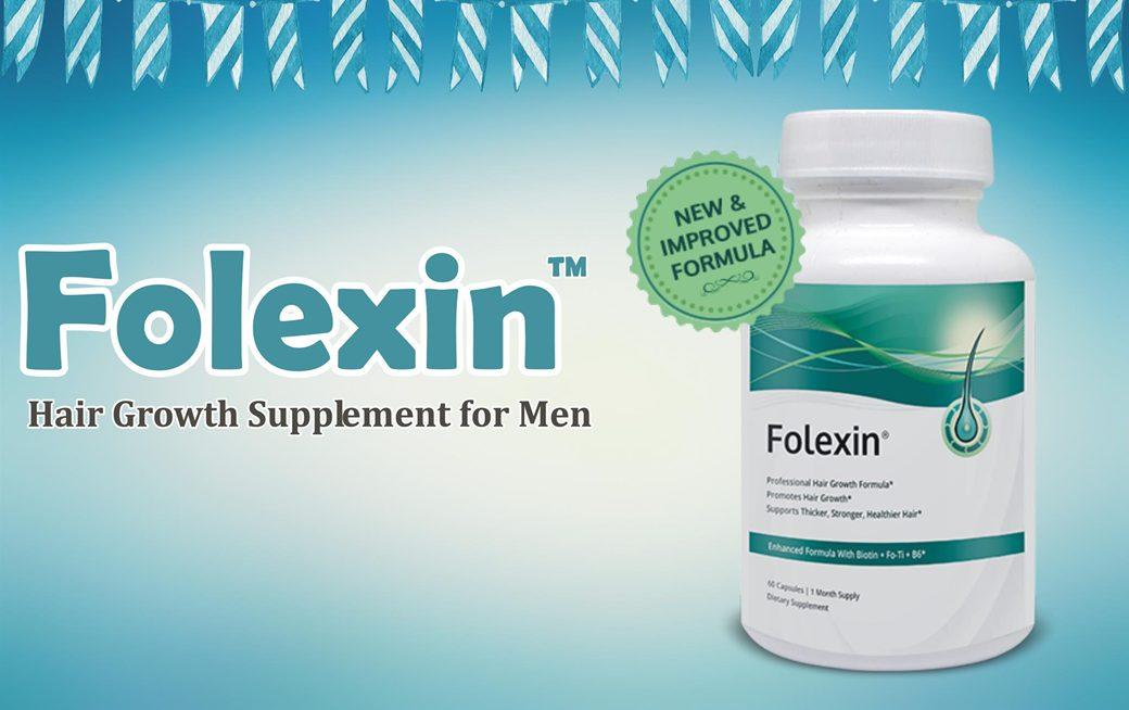 Folexin is a hair growth supplement